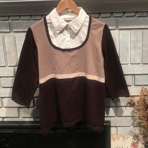Light, Layered-look Sweater